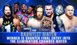 Change Wwe Championship Elimination Chamber Match On Smackdown