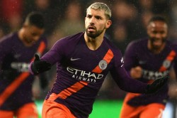 Fa Cup Swansea City 2 Manchester City 3 Controversial Aguero Winner Completes Comeback