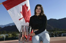 Bianca Andreescu Indian Wells Masters Andre Labelle Tennis Canada