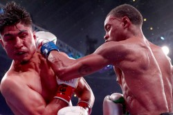 Errol Spence Jr Beats Mikey Garcia Calls Out Manny Pacquiao