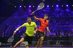 Saurav Ghosal Reaches Grasshopper Cup Squash Quarterfinals