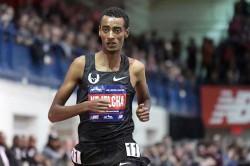 Yomif Kejelcha Breaks World Indoor Mile Record