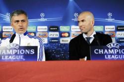 Zinedine Zidane Real Madrid Jose Mourinho