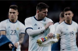 Lionel Messi Argentina Morocco Frustrated Friendly Absence