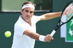 Roger Federer Kyle Edmund Indian Wells Masters