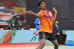 Dutch Junior Badminton Sai Charan Koya Upsets Top Seed Ente