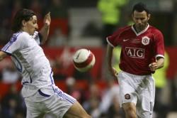 Ryan Giggs Zlatan Ibrahimovic Manchester United Alex Ferguson