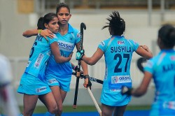 Indian Women S Hockey Team Beat Malaysia 1 0 To Win Series