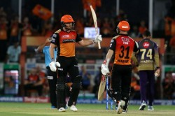 Ipl David Warner Jonny Bairstow Sunrisers Hyderabad Beat Kolkata Knight Riders By 9 Wickets