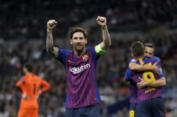 La Liga Messi Fires Barcelona To Title Atletico Survive Var Drama