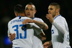 Frosinone 1 Inter 3 Nainggolan Perisic Goals Serie A Match Report