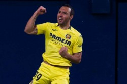 Santi Cazorla Hoping Arsenal Villarreal Europa League Semi Final