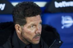 Simeone Wants Atletico To Raise The Bar Against Barcelona