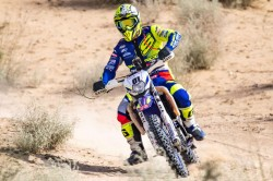 Tvs Racing S Adrien Metge Wins Two Stages On Day 1 Of The Desert Storm