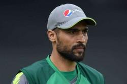 Wahab Riaz Mohammad Amir Asif Ali Pakistan Cricket World Cup Squad