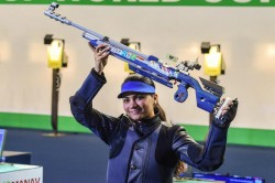 Apurvi Chandela Is World Number One In 10m Air Rifle Anjum Claims Second Position