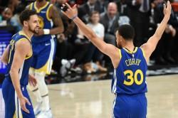 Golden State Warriors Sweep Trail Blazers Nba Finals