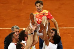 Madrid Open Zverev Ends Ferrers Career Del Potro Out