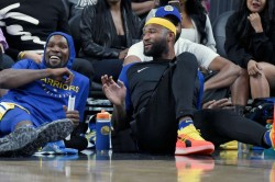 Kevin Durant Demarcus Cousins Golden State Warriors Some Point Nba Finals