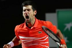 Atp Internazionali Ditalia Novak Djokovic Rafael Nadal