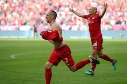 Bayern Munich 5 Eintracht Frankfurt 1 Robben And Ribery Strike Seal Seventh Consecutive Bundesliga