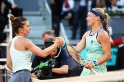 Simona Halep Loses To Kiki Bertens Wta Madrid Open Final