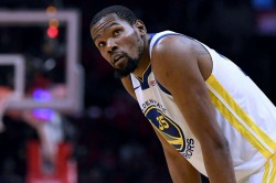 Kevin Durant Injury Update Warriors Star Calf Out Game 1 Vs Trail Blazers
