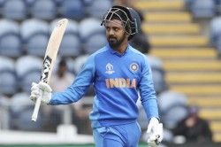 Icc Cricket World Cup 2019 Kl Rahul Looks To Settle India S No 4 Debate