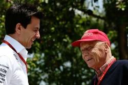 Toto Wolff Niki Lauda Death Mercedes