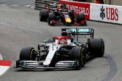 Lewis Hamilton Monaco Grand Prix F1 Mercedes One Two Run Ends