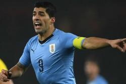 Oscar Tabarez Luis Suarez Uruguay Copa America