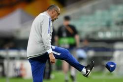 Maurizio Sarri Chelsea Training Europa League Final