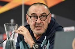 Maurizio Sarri Chelsea Defence Europa League Eintracht Frankfurt