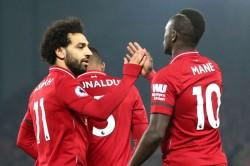 Salah Shares Golden Boot With Mane And Aubameyang