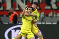 Eintracht Frankfurt 1 Chelsea 1 Pedro Maurizio Sarri