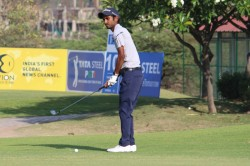 Rashid Khan Takes Round One Lead With A 66 At The Pgti Players Championship