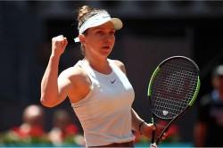 Wta Madrid Open Simona Halep Naomi Osaka Petra Kvitova