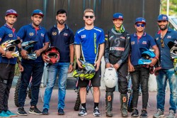 Tvs Racing Gears Up For Desert Storm 2019 With 7 Rider Squad