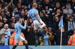 Manchester City 1 Leicester City 0 Kompany Stunner Premier League Match Report