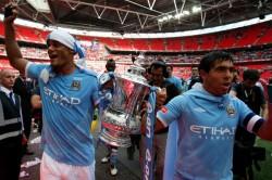 Fa Cup Final Manchester City V Watford Vincent Kompany Farewell