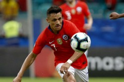 Copa America Chile V Uruguay Sanchez Ankle Injury To Be Assessed