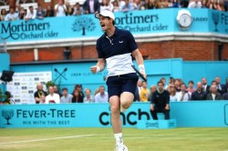 Andy Murray Doubles Final Queens Club Championships