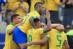 Peru 0 Brazil 5 Copa America Match Report