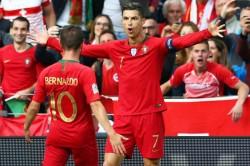 Portugal 3 Switzerland 1 Sensational Ronaldo Fires Hosts In Nations League Final