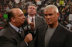 Wwe Announce Paul Heyman And Eric Bischoff For Creative Roles