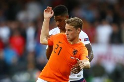 Ronald Koeman Frenkie De Jong Nations League Netherlands England