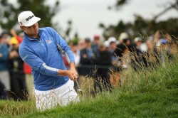 Us Open 2019 Gary Woodland Holds Serve As Justin Rose Sits One Shot Back