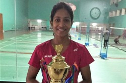 Double Delight For Gayatri Gopichand At Senior Ranking Tournament Lakshya Sen Fights Hard