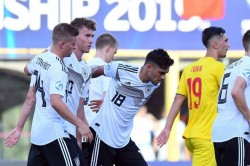 Germany Romania European Under 21 Championship Gian Luca Waldschmidt