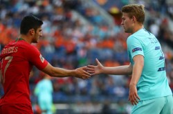 Portugal Netherlands Goncalo Guedes Nations League Final